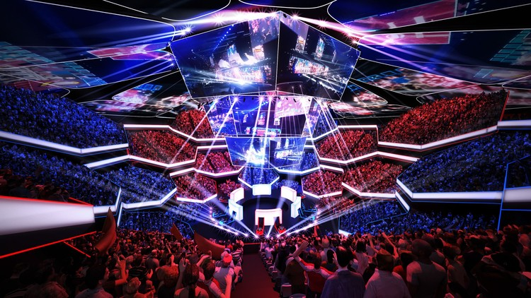 A New Type of Entertainment: The Rise of Esports Arenas Around the Globe   ArchDaily